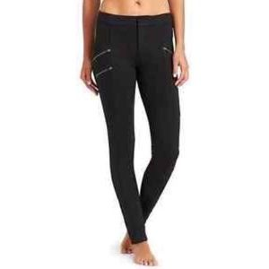 Athleta Black Ponte Knit Moto Leggings✨